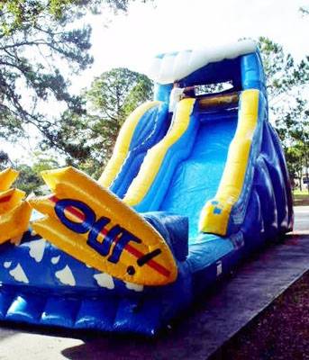 Wipe Out  21' Tall (Waterslide)